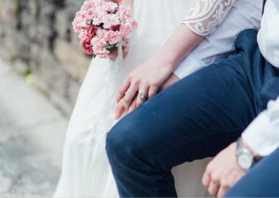 Bride and groom Make it happen BCN