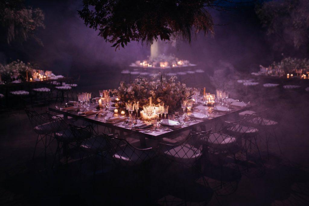 Magical wedding decor