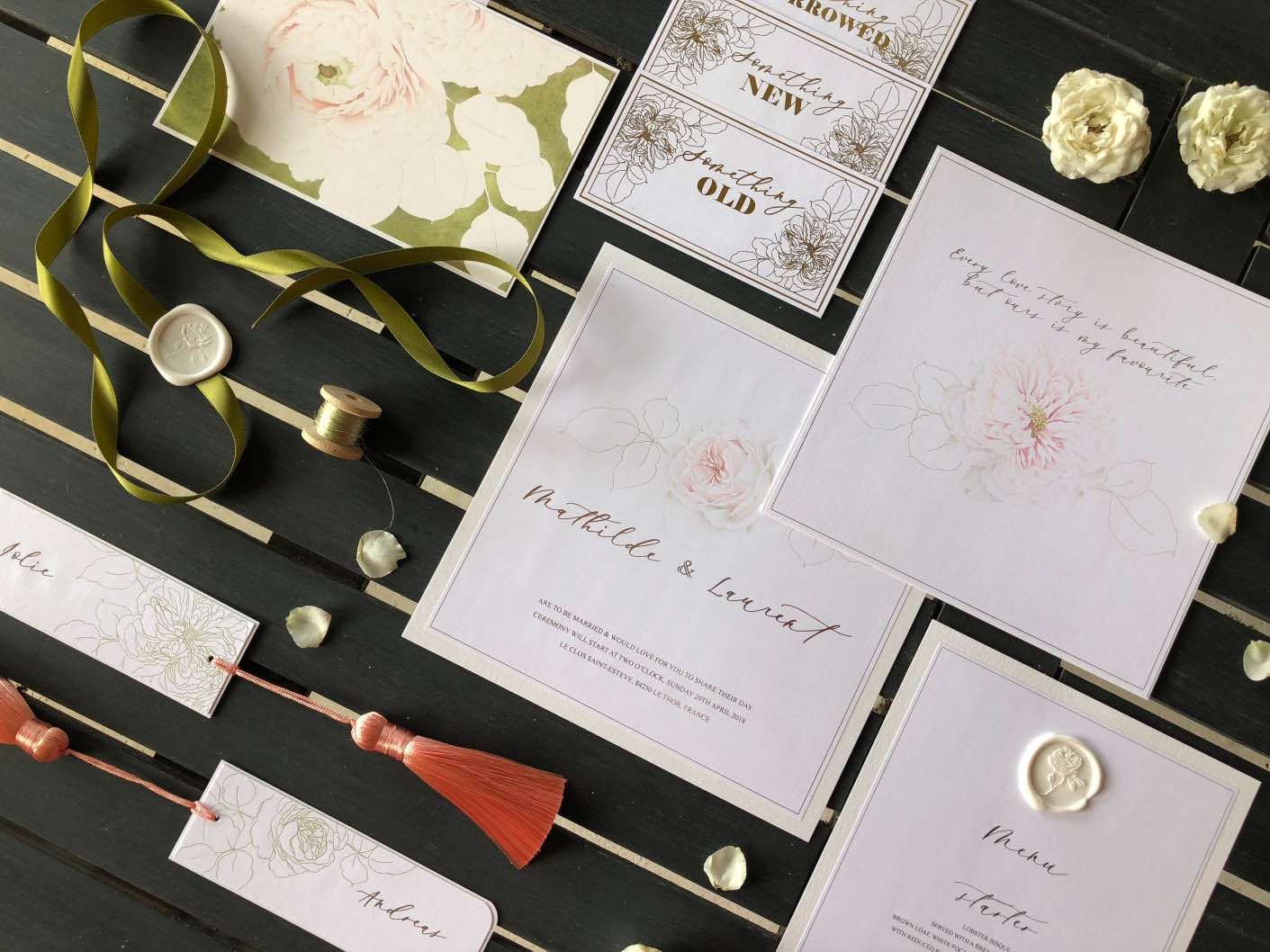 wedding stationery vendor